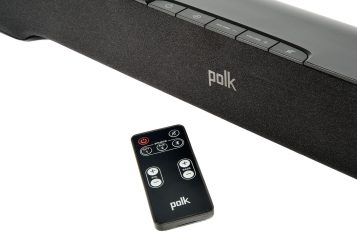 Polk Audio Smart Sound Bar with remote