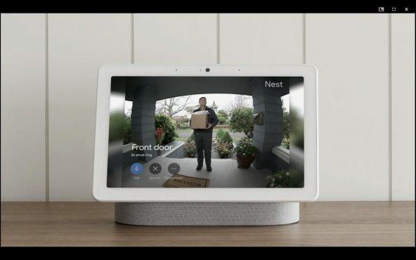 Google Nest Hub option